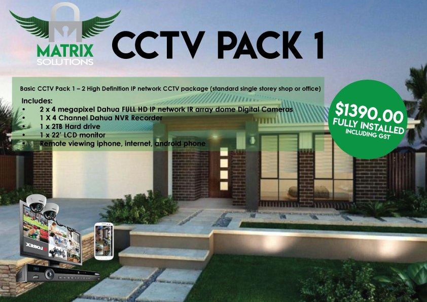 Security CCTV Pack 1